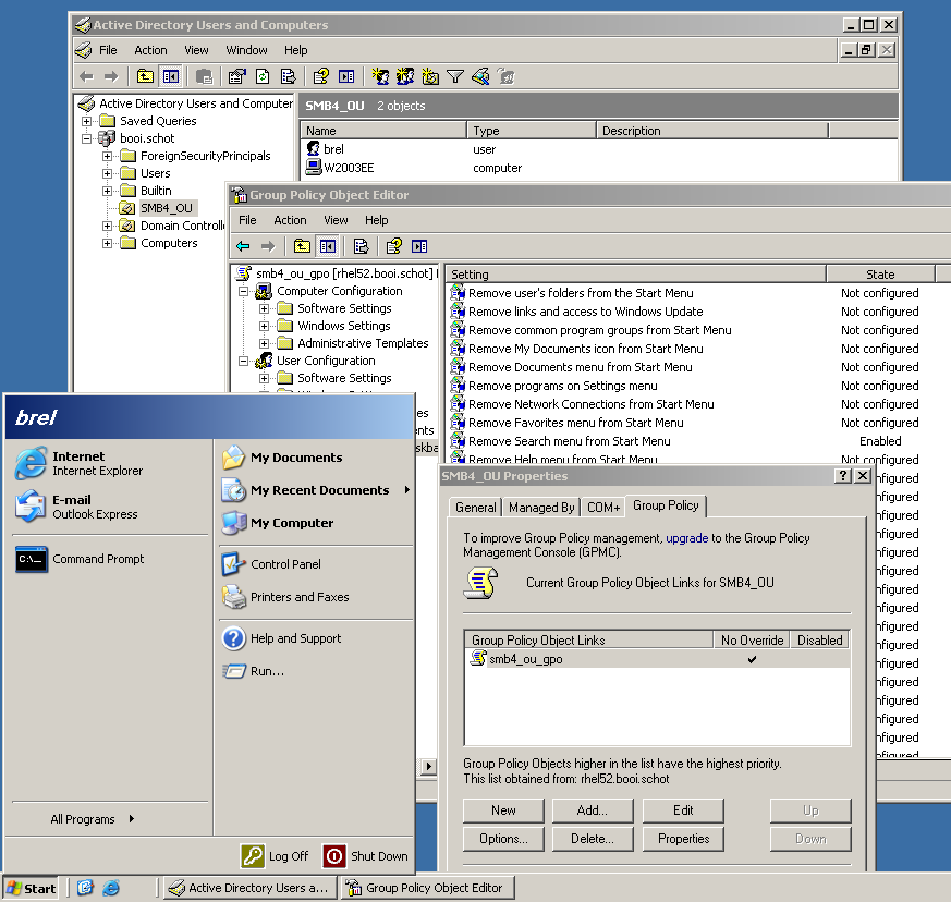 Contoh Group Policy