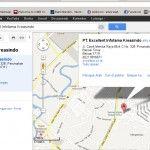 Google Maps dan Denah Menuju Markas (Lokasi Training) Excellent di Bekasi