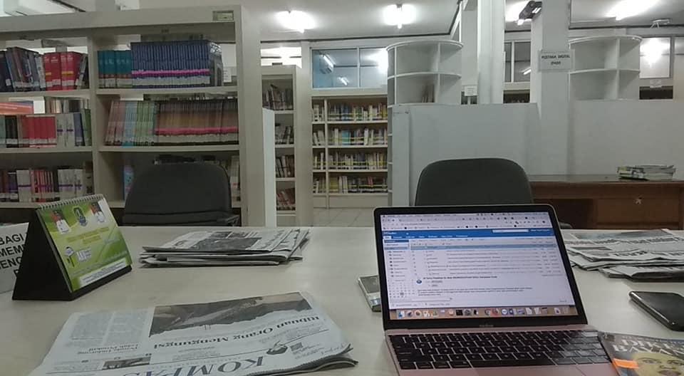 Bekerja di Perpustakaan Umum Kota Bekasi