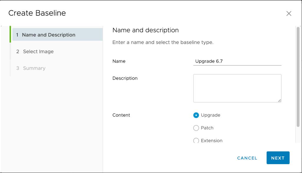 Upgrade vSphere Host Menggunakan vSphere Update Manager