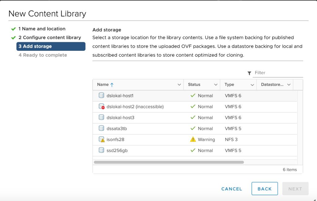 Content Libraries pada VMware vSphere