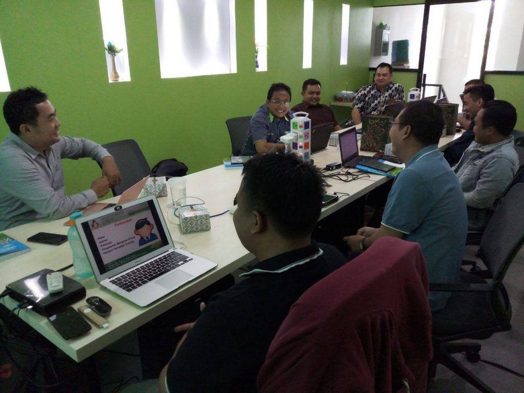 Suasana Training Virtualisasi Server Berbasis VMware vSphere 6.7