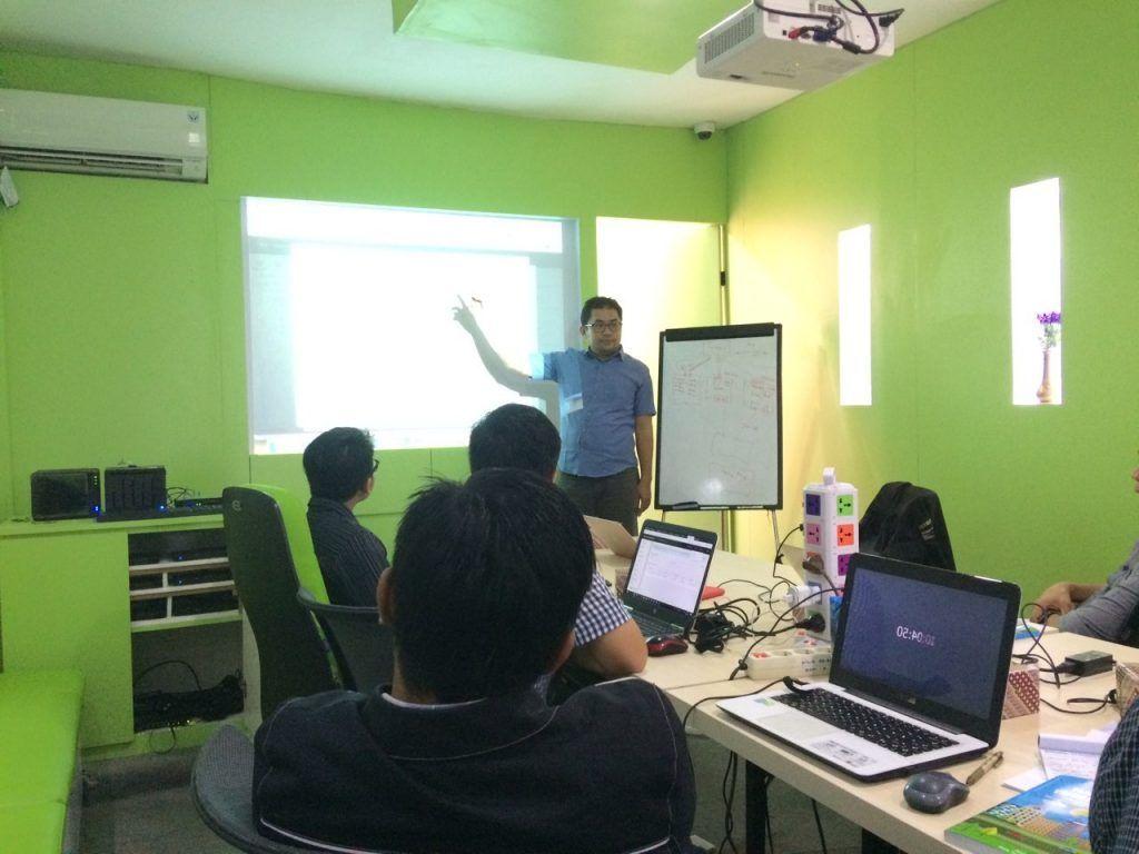 Beberapa Foto Special Class Training VMware vSphere
